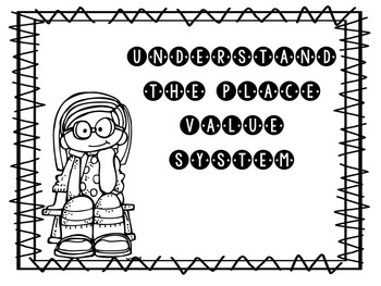 Print and Go Math Booklet: Understand the Place Value System Grade 5
