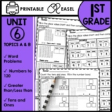 Math Worksheets 1st Grade [Numbers to 100, word problems, Greater than]