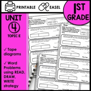Print and Go Math Sheets (Word problems within 20)
