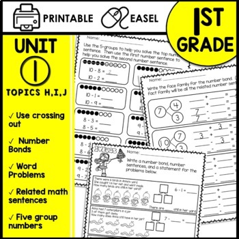 Print and Go Math Sheets (subtraction)