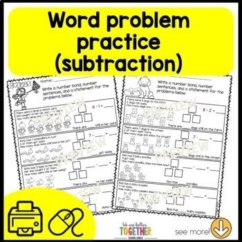 Math Worksheets 1st Grade [subtraction]
