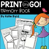 End of the Year Memory Book ~ Writing supplements (NO PREP - Print and Go! )