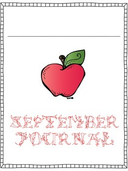 Print and Go Monthly Journal and Morning Work Covers