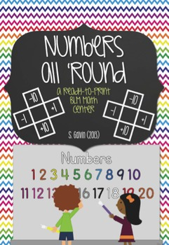 Print and Go - Numbers All 'Round