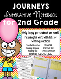 Print-and-Go, Paper-Saving Journeys Interactive Notebook for 2nd Grade