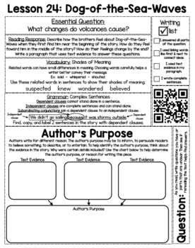 Print-and-Go, Paper-Saving Journeys Interactive Notebook for 3rd Grade