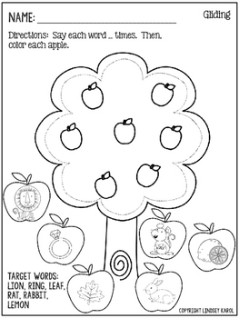 Print and Go Phonology Sheets for Fall