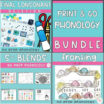 Print and Go Phonology: The Bundle