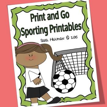 Sport Worksheets for Literacy Development