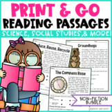 Reading Comprehension Passages- Distance Learning