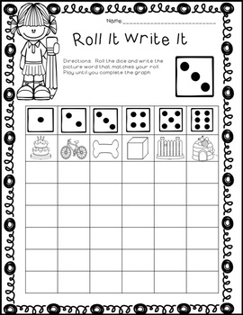 Phonics Word Work Centers 1st Grade and 2nd Grade