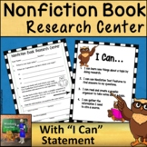 Research Center Reproducible  *Nonfiction Book Version* Print and Go!
