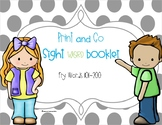 Print and Go Sight Word Booklet Fry Words 101-200