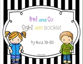 Print and Go Sight Word Booklet Fry Words 201-300
