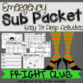 Print and Go Sub Packet for Fright Club