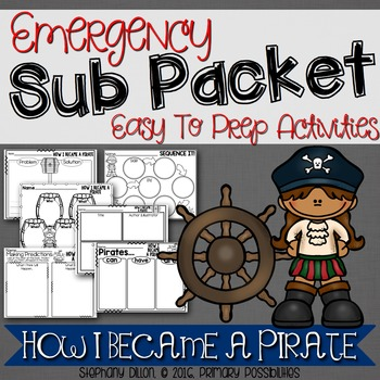 Print and Go Sub Packet for How I Became a Pirate