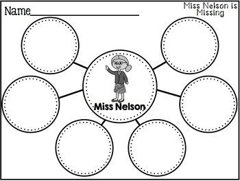 Print and Go Sub Plans for Miss Nelson is Missing