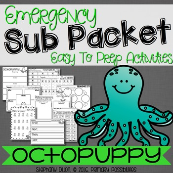 Print and Go Sub Packet for Octopuppy