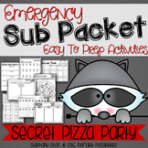 Print and Go Sub Packet for Secret Pizza Party