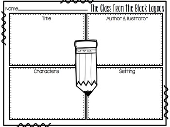 Print and Go Sub Packet for The Class from the Black Lagoon