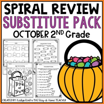Print and Go Substitute Pack - Oct. Gd.2