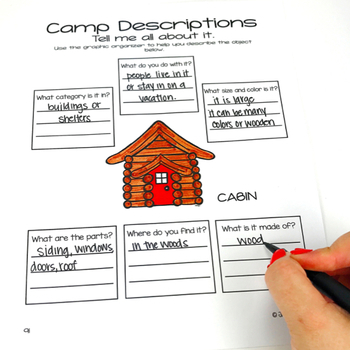 No Prep Speech and Language Homework: Summer Camp   distance learning packet