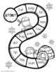 Print and Go! Winter ELA activity booklet - CVC edition