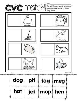 Print and Go! Winter Math and Literacy (NO PREP)