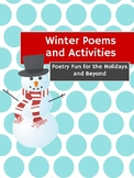Print and Go Winter Poems and Activities ~No Prep~