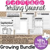 Print and Go Writing Journal (English and Spanish) *GROWIN