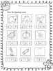 Print and LEARN: Literacy and Math Worksheets-October
