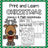 Print and Learn- CHRISTMAS
