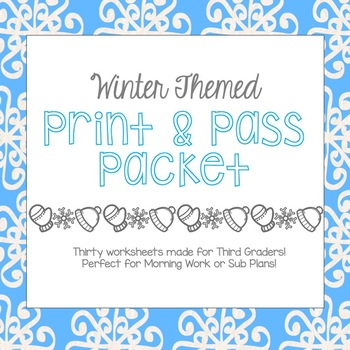 Print and Pass Packet