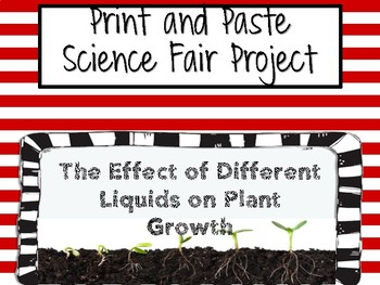 Print and Paste Complete Science Fair