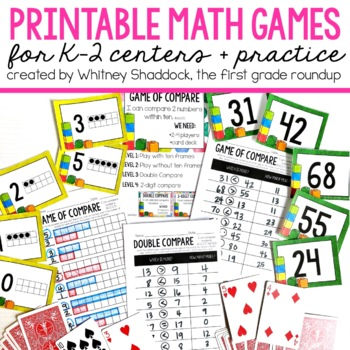 Math Games for First Grade