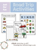 Print and Play Road Trip Activities