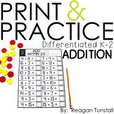 Print and Practice Addition