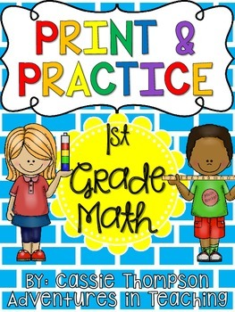Print and Practice: Math