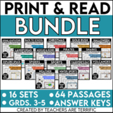 Reading Passages Print and Read Bundle
