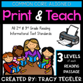 Nonfiction Reading Passages and Activities (Common Core Aligned)
