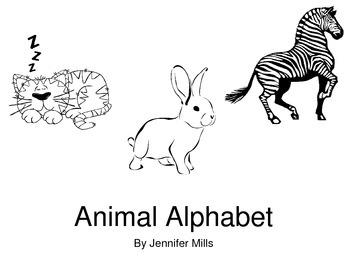 Print friendly Animal ABC