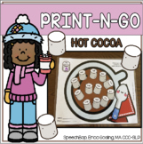 Print-n-Go - Articulation Activity - Hot Cocoa Edition!
