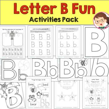 Print 'n' Go Letter B