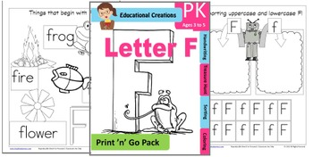 Print 'n' Go Letter F