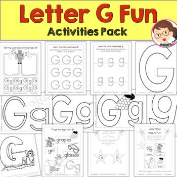 Print 'n' Go Letter G