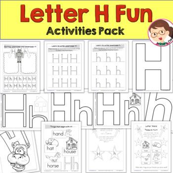 Print 'n' Go Letter  H