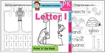 Print 'n' Go Letter I