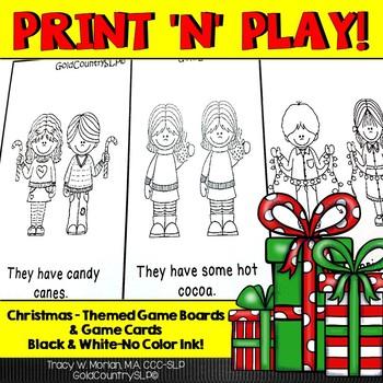 Print 'n' Play - Christmas