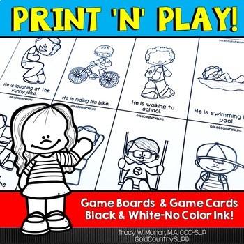 Print 'n' Play - Pronouns