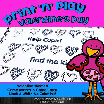 Print 'n' Play - Valentine's Day